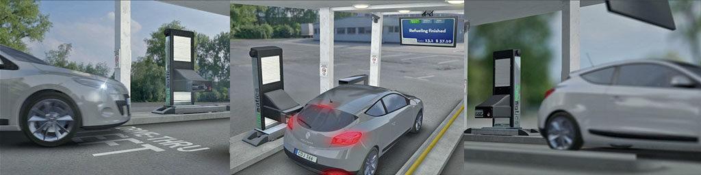 Automatic Gas Pump Station