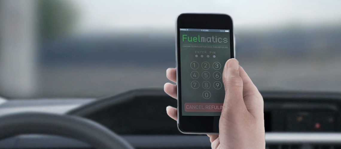 Fuelmatics – touchless payment/fueling